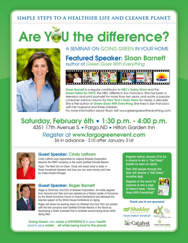 Shaklee Event e-mail2